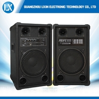 plastic front panel bluetooth battery single ten inch mp active stage dj speaker with built in amplifier usb sd fm rc3
