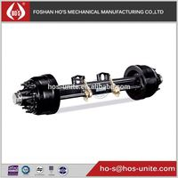 guangdong hos 127mm beam Trailer Axles for Boats for tanker