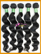 XBL 20 22 24 inch virgin remy malaysian human hair weft provide by golden hair company