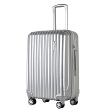 3 Pieces Set Hard Plastic Trolley ABS PC Suitcase luggage