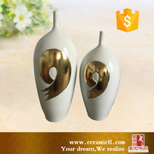 Wholesale New style ceramic flower vase painting designs for home decor