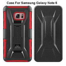 Mobile Phone Accessory 2016 Case For Galaxy Note 6, For Samsung Galaxy s6 s7 s7 edge Note 3 4 5 6 Cover Hybird Shell