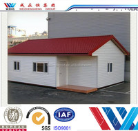 China supplier cheap prefabricated house with beautiful house model and architectural house plan