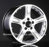ZW-103 Popular curved spokes custom alloy wheel 16 17 18 19 inch