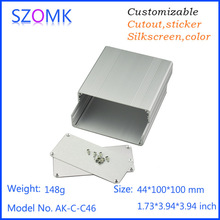 aluminum extruded enclosures instrument enclosure control box