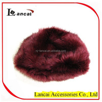 2016 new style high quality wholesale faux fur hat