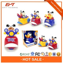 Crazy selling cute cartoon kids toy friction mini motorcycle for sale