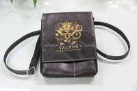 2014 new design fashionable leather sling bag for man