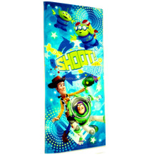 Best price digital print carton custom design plain colorful vivid beach towel for multipurpose