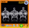 /product-detail/small-glass-candy-jar-and-cookie-pot-with-engraved-design-for-tableware-968238104.html