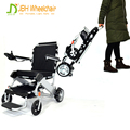 Wholesale price aluminum portable folding power electric wheelchair for elderly