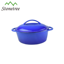 Cast Iron Colorful Enameled Cookware