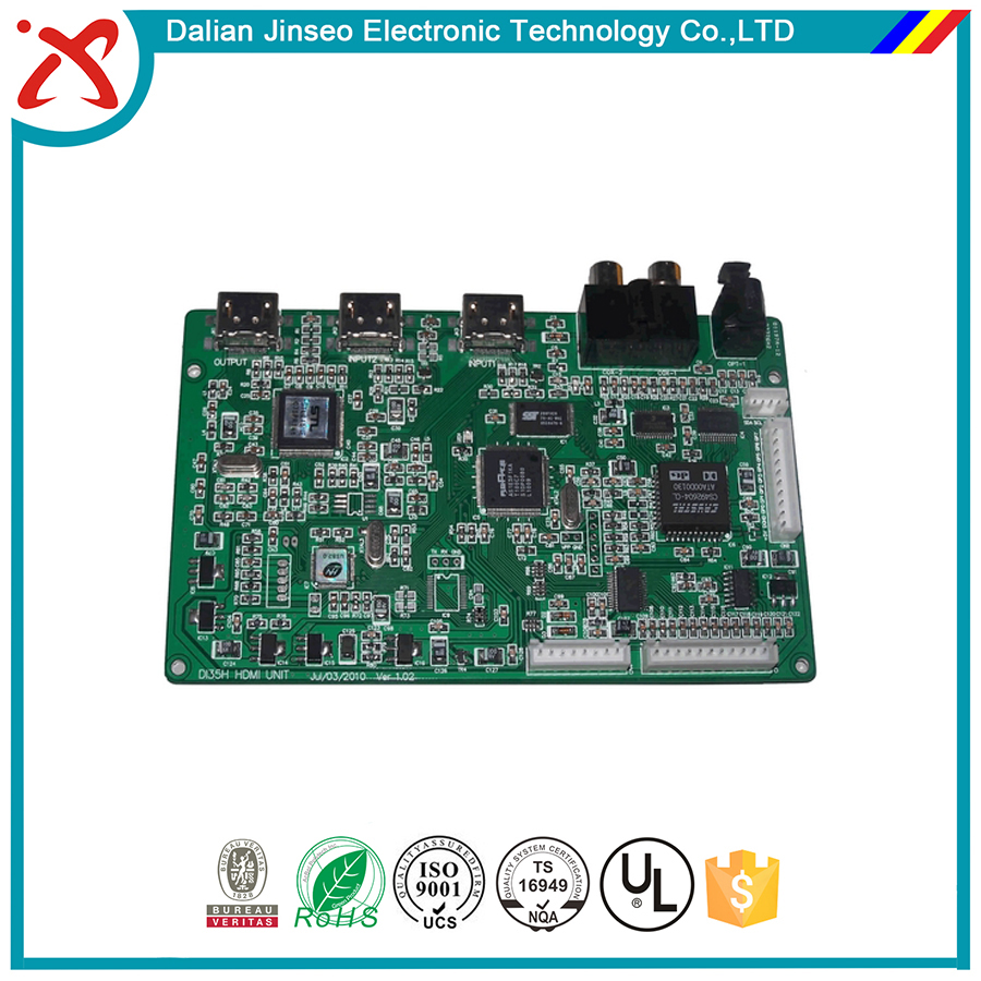 Custom design ac3 dts digital audio decoder 5.1 pcb board