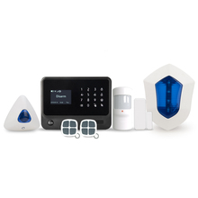 Touchpad Home Automation/Security Alarm Kit with Wifi and GSM Module & Android+IOS APP control WiFi/GPRS+GSM alarm system