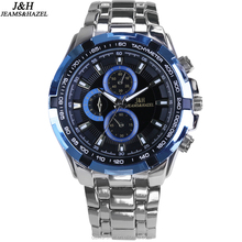 2017 hot selling top 10 brand factory price water proof charming quartz mens watch