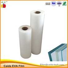 Super clear eva film for laminated safety window glass film