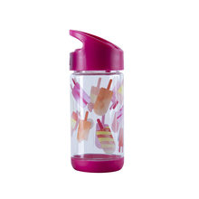 BPA FREE Plastic Kids Water Bottle With Straw