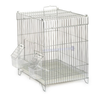 "43"" Heavy Duty Dog Cage Crate Kennel Metal Pet Playpen Portable w/Tray and Wheel"
