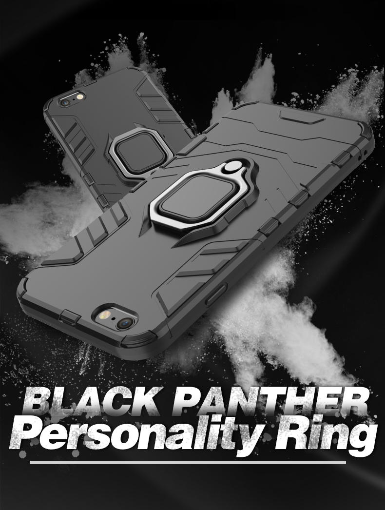 Unique Design bumper ring metal phone case for iphone 6 6s 7 7 plus,metal phone case cover for iphone 7 with ring holder