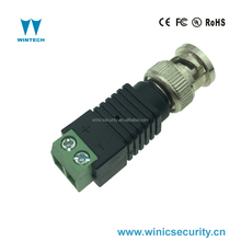 green bnc male connector to screw terminal