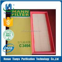 Replacement for MANN Air Compressor Air Filter C3494