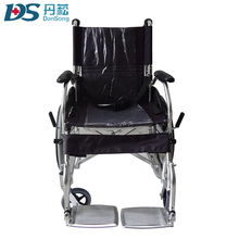 loading Capacity 110kg foldable aluminum wheelchair with rims