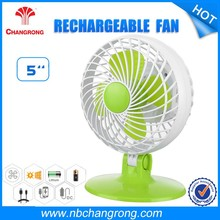 Home appliances portable usb rechargeable battery table mini fan