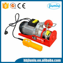 Best sale 500kg 800kg small wire rope electric hoist with CE standard