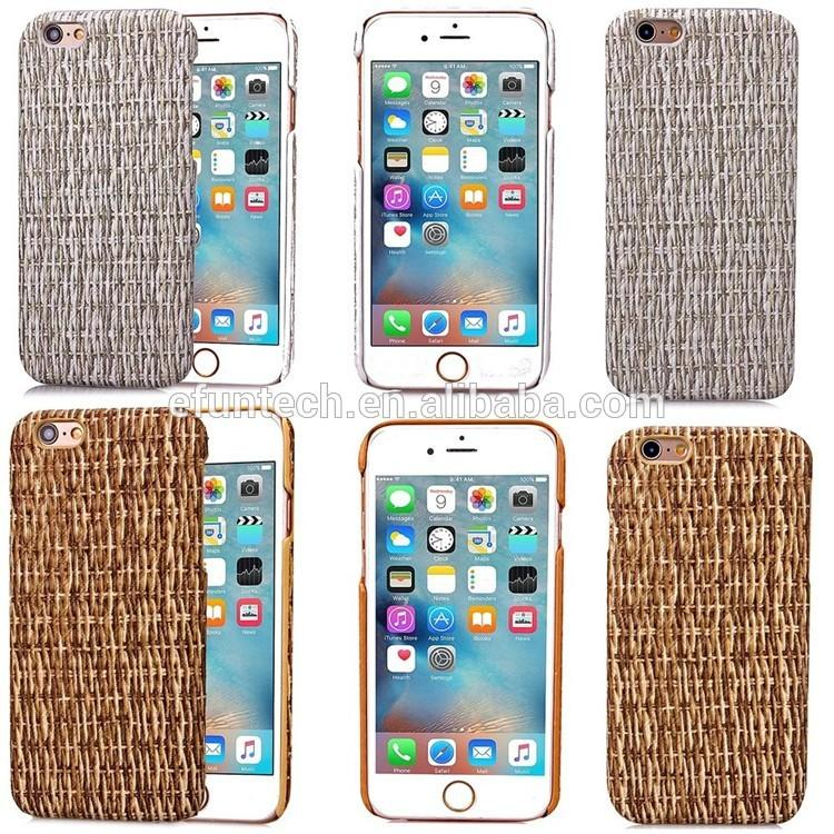 3D vines grain pu leather back shell for iphone 6Plus 6S Plus