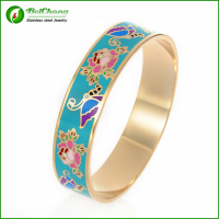 Newest Design Bangle Enamel Cloisonne Bracelets