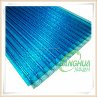 China Supplier recycle greenhouse pc polycarbonate hollow sheet