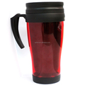 PP Food Grade Double Wall Glass Mug for Coffee and Tea