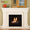 Natural Stone Cheap English Style Marble Fireplace Mantel