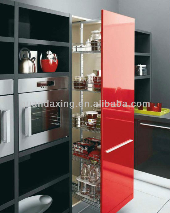 massello di ciliegio armadio, mobili da cucina di design per americano ...