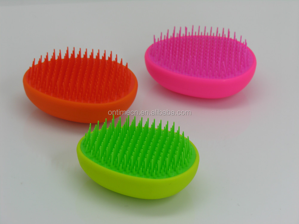 2017 egg detangling brush mini size, promotion detangling brush, mini detangling brush