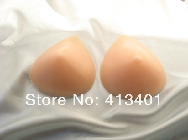 Nipple pads silicone breast enlargement a single one 350g B/C cup wholesale and drop shipping