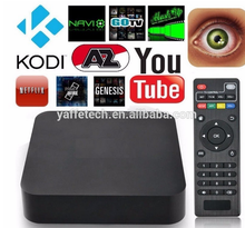 Manufacturer Tv Box Amlogic S805 Quad Core Google Android 4.4 1GB RAM 8GB ROM Support H.265 Smart Media Player Android Tv Box