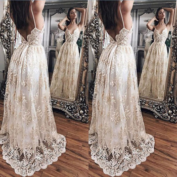 2019 OEM shot front back white lace long sexy party dresses casual dresses for women ladies