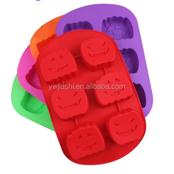 happy halloween's day Pumpkin shape silicone mould cake tools