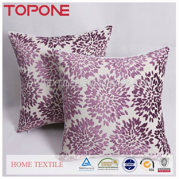 Good quality beautiful decorative nice design factory selling velveteen cushion covers
