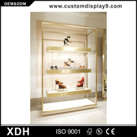 High End Shoe Shop Decoration Gold
