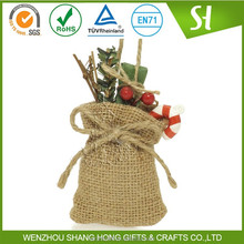 Made in China Cheap Eco-friendly jute hessian bag