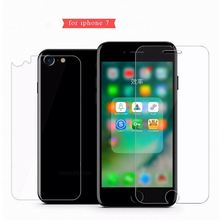 Front + Back Tempered Glass For iPhone 5 5s SE 4 4S 6 6s 7 8 Plus Rear Screen Protector Anti Shatter Film for iPhone X