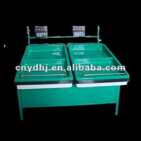 Supermarket Acry Fruit And Vegetable Stand For Display YD-0368