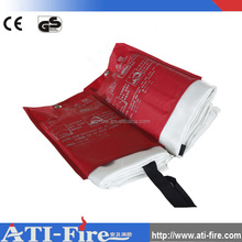 Wholesale China Supplier Functional Different Types Of 100% Fiberglass Asbestos Free Fire Blanket
