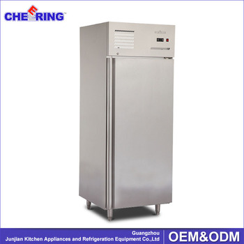 Commercial fan cooling Upright Freezer