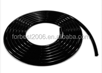 Black Electric Conductive Silicone Tube Silicone Extruded Tube