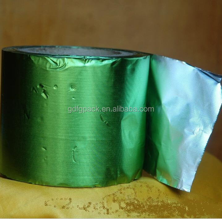 Chocolate packing aluminum foil sheet or roll in printed or embossed