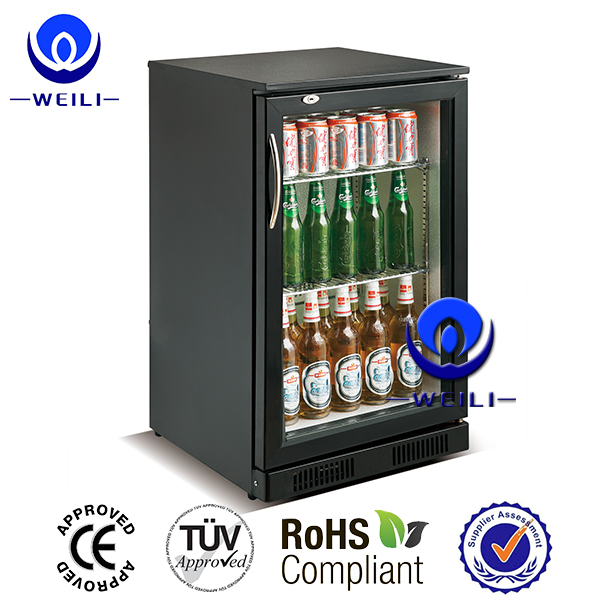 Promotion new glass door display beer chiller refrigerator and freezer