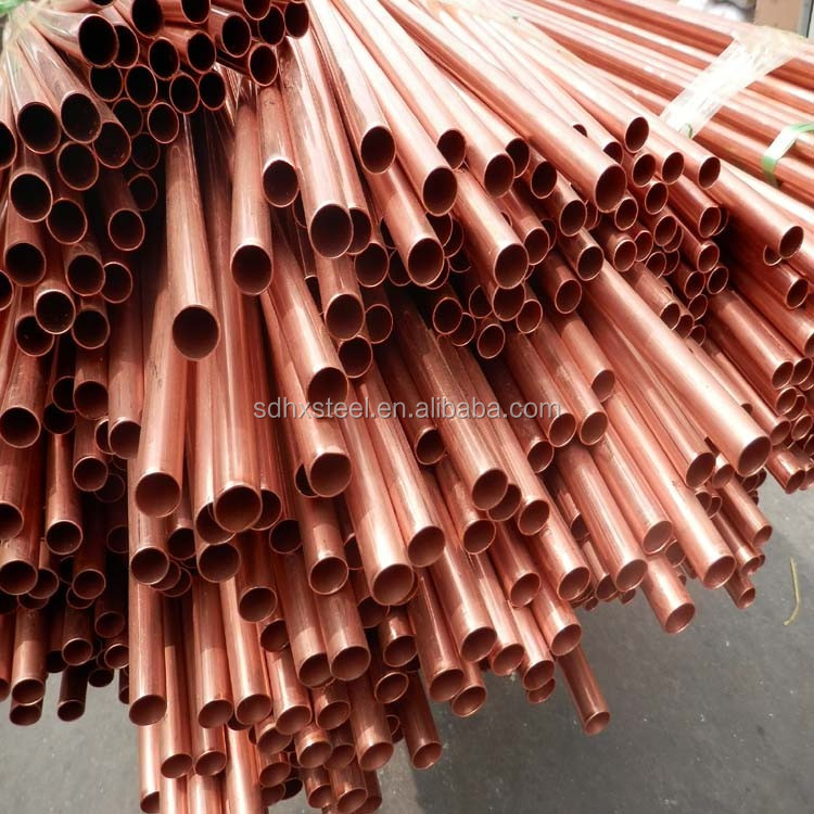 seamless copper pipe and tube ASTM B88 IN CHINA